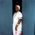 Brazil, Cachoeira, Salvador da Bahia. 70 year old Irmana Adelaide has been a member of the Irmandada da Boa Morte (Sisterhood of the Good Death) for the last 10 years.