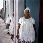 Brazil, Cachoeira, Salvador da Bahia. 70 year old Irmana Joselita (front) has been a member of the Irmandada da Boa Morte (Sisterhood of the Good Death) for 18 years.
