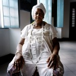 Brazil, Cachoeira, Salvador da Bahia. 70 year old Irmana Joselita has been a member of the Irmandada da Boa Morte (Sisterhood of the Good Death) for 18 years.