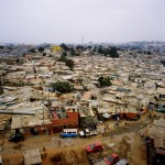 Angola, Luanda. A slum, known in Angola as a musseque, in Luanda.