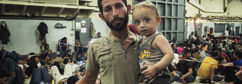 Images of 'Rescue at sea' on Aljazeera