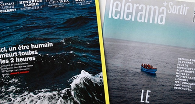 Tèlèrama: Making-of d'une photo de une saisissante